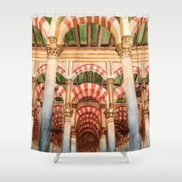 Mezquita de Cordoba - Spain Shower Curtain