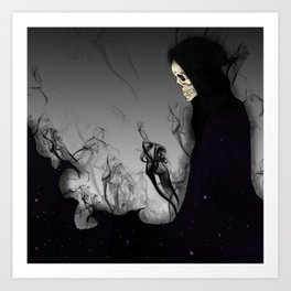 Death Galaxy Art Print
