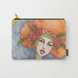 Jenny Manno Original Watercolor Carry-All Pouch