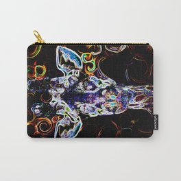 Closeup Neon Carry-All Pouch
