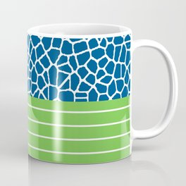 staklo (blue with green) Coffee Mug