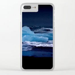 ice night. Clear iPhone Case