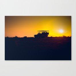 Morning African Safari Canvas Print