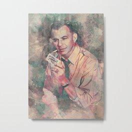 Frank Sinatra Metal Print