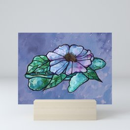 Sea Turtle Flowers Mini Art Print