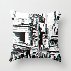 City That Inspires Throw Pillow