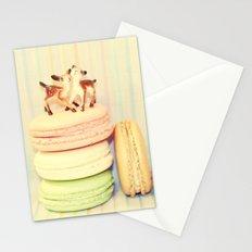 Deer Macarons Stationery Cards