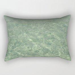Clean Ocean Water Rectangular Pillow