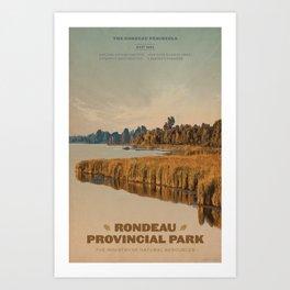 Rondeau Provincial Park Art Print