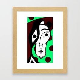 The Melancholic 2.0 Framed Art Print