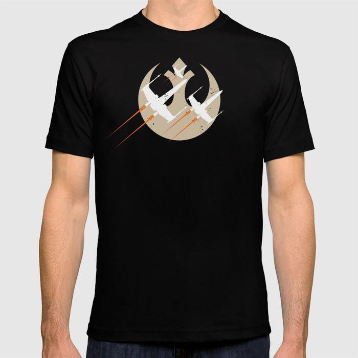 X-wings in flight T-shirt