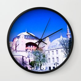 A beautiful museum. Wall Clock