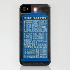 Doctor Who  iPhone (4, 4s) Slim Case
