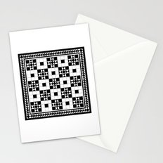 Victorian Floor Tile Pattern #4 Stationery Cards