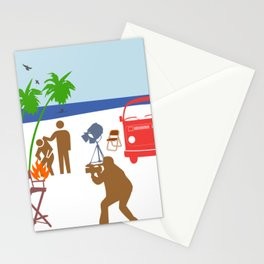 Action Movie Stationery Cards