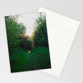 magical time and place Stationery Cards