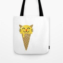 Ice Creameow Tote Bag