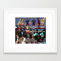 ukraine Framed Art Prints featuring From Ukraine! by Nathalie Lawhead