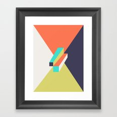Poligonal 248 Framed Art Print