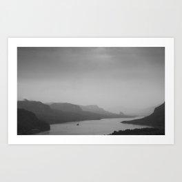 Oregon Views Art Print