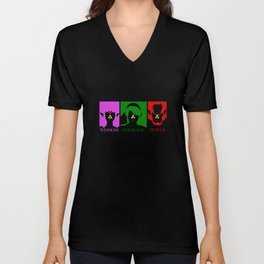 THE LEGEND OF ZELDA: TRIFORCE MEANING Unisex V-Neck