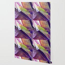 Magic abstract Banana Leaves Wallpaper