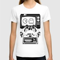 joy division T-shirts featuring Joy(stick) Division by Roberlan Borges