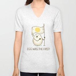 anthem of eggs Unisex V-Neck