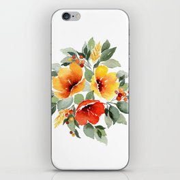 Fall Trio iPhone Skin