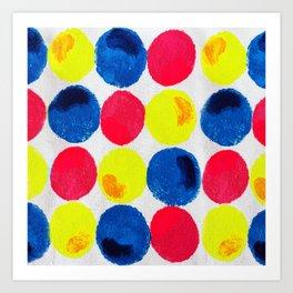 Circle of Colors Art Print