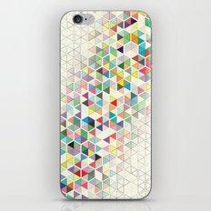 Cuben Split iPhone & iPod Skin