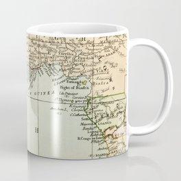 West  & North Africa Vintage Map Coffee Mug