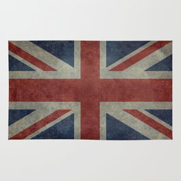 Union Jack (1:2 Version) Rug