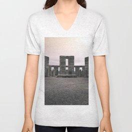 Maryhill Stonehenge Unisex V-Neck