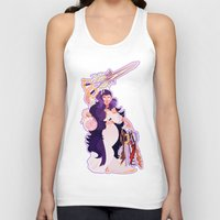 kingdom hearts Tank Tops featuring Kingdom Hearts by DiamondWerewolf