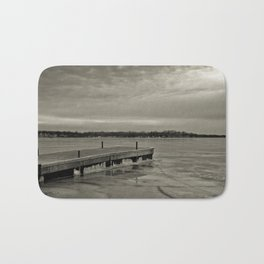 Frozen Dock Bath Mat