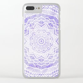 Tribal Mandala Clear iPhone Case