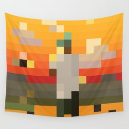 Scum Pixel Flower Boy Wall Tapestry