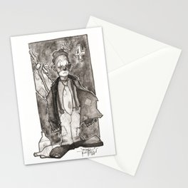 Clown Number 4 Stationery Cards