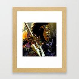 Jimmy Hendrix Framed Art Print