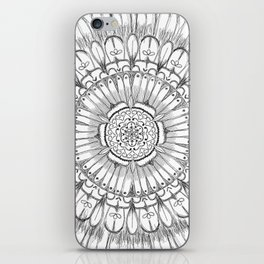 Flower Mandala iPhone Skin