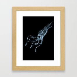 Code Squid Framed Art Print