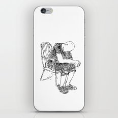 The Sitter iPhone & iPod Skin