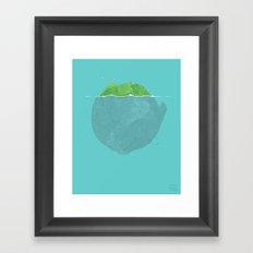 Lettuce Iceberg Framed Art Print