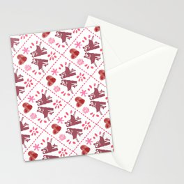 Quilted Milongueros - a Tango Gitano Pattern  Stationery Cards