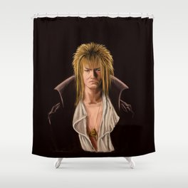 Goblin King Shower Curtain