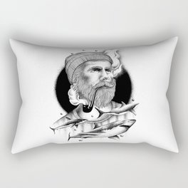 THE MAN AND THE SEA Rectangular Pillow