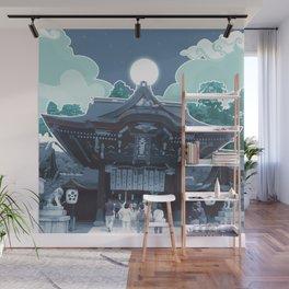Night in Japan Wall Mural
