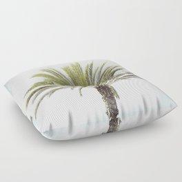 Palm Tree Photography, California Beach Coastal Art, Palm Trees Sky Floor Pillow