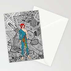 Bowie Fashion 8 Stationery Cards